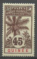GUINEE N° 42 NEUF** LUXE SANS  CHARNIERE  / MNH - Guinea Francesa (1892-1944)