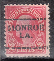 USA Precancel Vorausentwertung Preo, Locals Louisiana, Monroe 635-701 - Stati Uniti