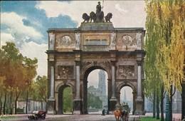 München Strassen Partie Am Siegestor, Kunst Gemälde Heinrich Kley 1920 - Muenchen