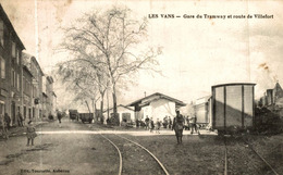 LES VANS GARE DU TRAMWAY ET ROUTE DE VILLEFORT - Les Vans