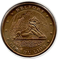 Belfort - 90 : Le Lion (Monnaie De Paris - 2010) - Monnaie De Paris
