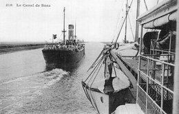 3628 Cpa Egypte - Le Canal De Suez - Suez