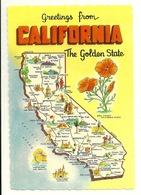 GREETINGS FROM CALIFORNIA - Etats-Unis