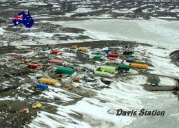 Antarctica Davis Station Australia New Postcard Antarktis AK - Sonstige
