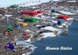 Antarctica Mawson Sation Australia New Postcard Antarktis AK - Sonstige