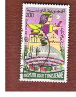 TUNISIA - SG 1013  -    1982 CONGRESS CENTER   - USED ° - Tunisia (1956-...)