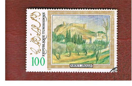 TUNISIA - SG 1065  -    1984 J. ABDULWAHAB, PAINTER    - USED ° - Tunisia (1956-...)