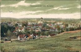 Kaunas Kowno (Коўна) Blick Auf Die Stadt 1913 - Lituanie
