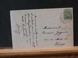 A10/152 CP  1918 CACHET THEUX/BELGIEN - 1915-1920 Albert I
