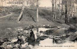 Environs De Pont L Abbe-lavoir Du Suler-bon état - Pont L'Abbe