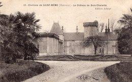 S2633 Cpa 16 Environs De Saint Même Les Carrières - Le Château De Bois Charente - Francia
