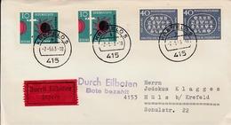 1963 .FDC. ENVELOPPE ALLEMAGNE  KREFELD  No23 - BRD