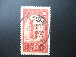 Perforé Perfin Maroc , Perforation : BEM 4 à Voir - Marokko (1891-1956)