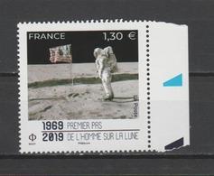 FRANCE / 2019 / Y&T N° 5340 ** : 1er Pas De L'homme Sur La Lune X 1 BdF D - France