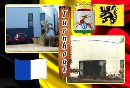 Postcards, REPRODUCTION, Municipalities Of Belgium, Turnhout Duplex XI - 48 Pcs.(498 - 545) - Maps