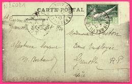 8e Olympiade N° 183 Cad 30.07.24 Sur St - Saint Pierreville - Vue Générale - Côté Est - 1924 - Storia Postale