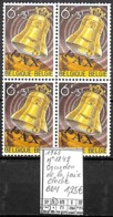 D - [839415]TB//**/Mnh-Belgique 1963 - N° 1242, Bourdon De La Paix Cloche, Bd4 - Belgium