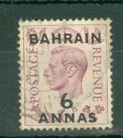 Bahrain: 1948/49   KGVI 'Bahrain' OVPT     SG57     6a On 6d   Used - Bahrein (...-1965)