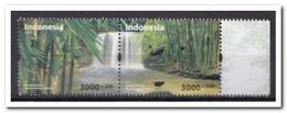 Indonesië 2018, Postfris MNH, Waterfall, Birds - Indonesië