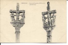 88 - Vrécourt - Croix Du Cimetière - Francia