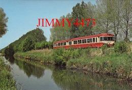 CPM - EAD à Cambron-Laviers - Omnibus Autorail 7527 Amiens / Abbeville En 1980 - Photo Chanteloup - Edit. BIBLIO-RAIL - Trains