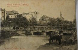 Altwies (Environs De Mondorf) Pont Sur L Aalbach (animee) 19?? FLECKIG Verlag J. M. Bellwald - Ansichtskarten