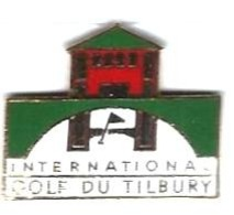 GOLF - G24 - GOLF DU TILBURY - Verso : STARPIN'S - Golf