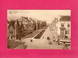 Belgique, Flandre Oc., Ostende, Avenue De La Reine, Animée, Charette, Commerces, (Thill) - Oostende
