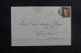 ROYAUME UNI - Affranchissement N°3 Sur Lettre Pour Liverpool En 1842, Oblitération De St. Helens Au Verso - L 41932 - 1840-1901 (Victoria)