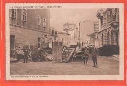 Fiume Arditi Fiumani  1920 Viale XX Settembre - Oorlog 1914-18