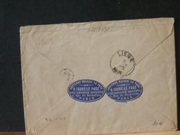A10/192 LETTRE FRANCE 1896 POUR LA BELG. - 1898-1900 Sage (Type III)