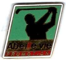 GOLF - G25 - GOLFEUR - ABEILLE VIE PROMOTION - Verso : SM - Golf