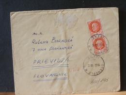 A10/194 LETTRE FRANCE 1942 POUR SLAVAQUIE  CENSURE - Covers & Documents