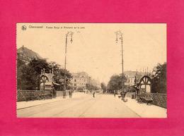 Belgique, Rare, Obercassel, Postes Belge Et Allemand Sur Le Pont, Animée, 1921, (Nels) - Belgique