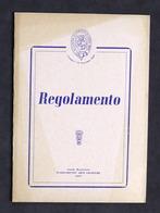 Accademia Filarmonica Di Casale Monferrato - Regolamento - 1959 - Libros, Revistas, Cómics