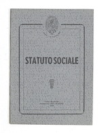 Accademia Filarmonica Di Casale Monferrato - Statuto Sociale - 1958 - Libros, Revistas, Cómics