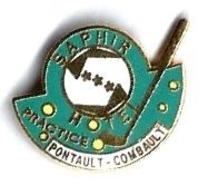 GOLF - G26 - CLUB DE GOLF - FACTICE - HOTEL SAPHIR PONTAULT COMBAULT - Verso : HARMONIE - Golf