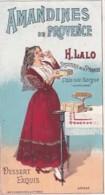 CHROMO   AMANDINES DE PROVENCE    H LALO    L ISLE SUR SORGUE       EXPO 1900 - Autres