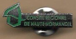 Pin's Conseil Régional De Haute-Normandie - Administrations