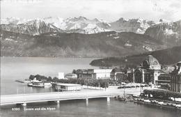 Lucerne Et Les Alpes. (Voir Commentaires) - LU Lucerne