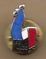 Pin's FF Judo Fédération Française Coq - Judo