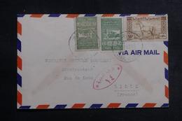 SYRIE - Enveloppe De Alep Pour La France En 1948 Par Avion Via Damas , Affranchissement Plaisant - L 41941 - Syrie