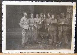MONDOSORPRESA, ( FT10)  FOTOGRAFIA  ANNO 1932,  PINEROLO, MILITARI - Guerra, Militari