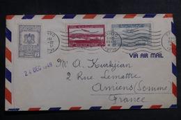 SYRIE - Enveloppe De Damas Pour La France En 1949 Par Avion, Affranchissement Plaisant - L 41942 - Syrie