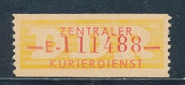 DDR Dienstmarken B 16 Kennbuchstabe E ORIGINAL !! ** Geprüft Weigelt Mi. 500,- - Official