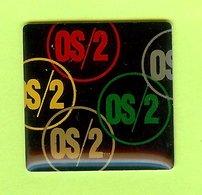 Pin's OS/2 Système D'Exploitation - 8G05 - Informatique