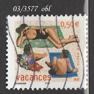FRANCE ANNEE 203 N° 3577    OBLITERE - Gebraucht
