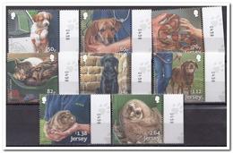 Jersey 2018, Postfris MNH, Pets, Owl, Snake - Brits Antarctisch Territorium  (BAT)
