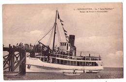 """5414 - Noirmoutier ( 85 ) - Le """" Saint-Philibert """" ( Bateau De Pornic à Noirmoutier ) - N°7 - éd. Delhomeau - - Ile De Noirmoutier"""