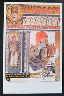 MANUEL ORAZI - Repr. Manifesto Realizzato Nel 1892 Per L'opera Theodora Di Sardou -  Manifesti In Miniatura  NV - Pubblicitari